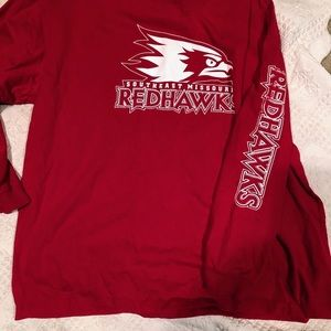 Long sleeve RedHawks t shirt